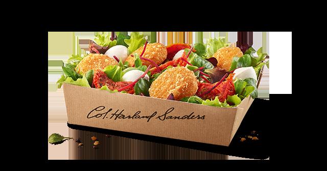 salade veggie kfc