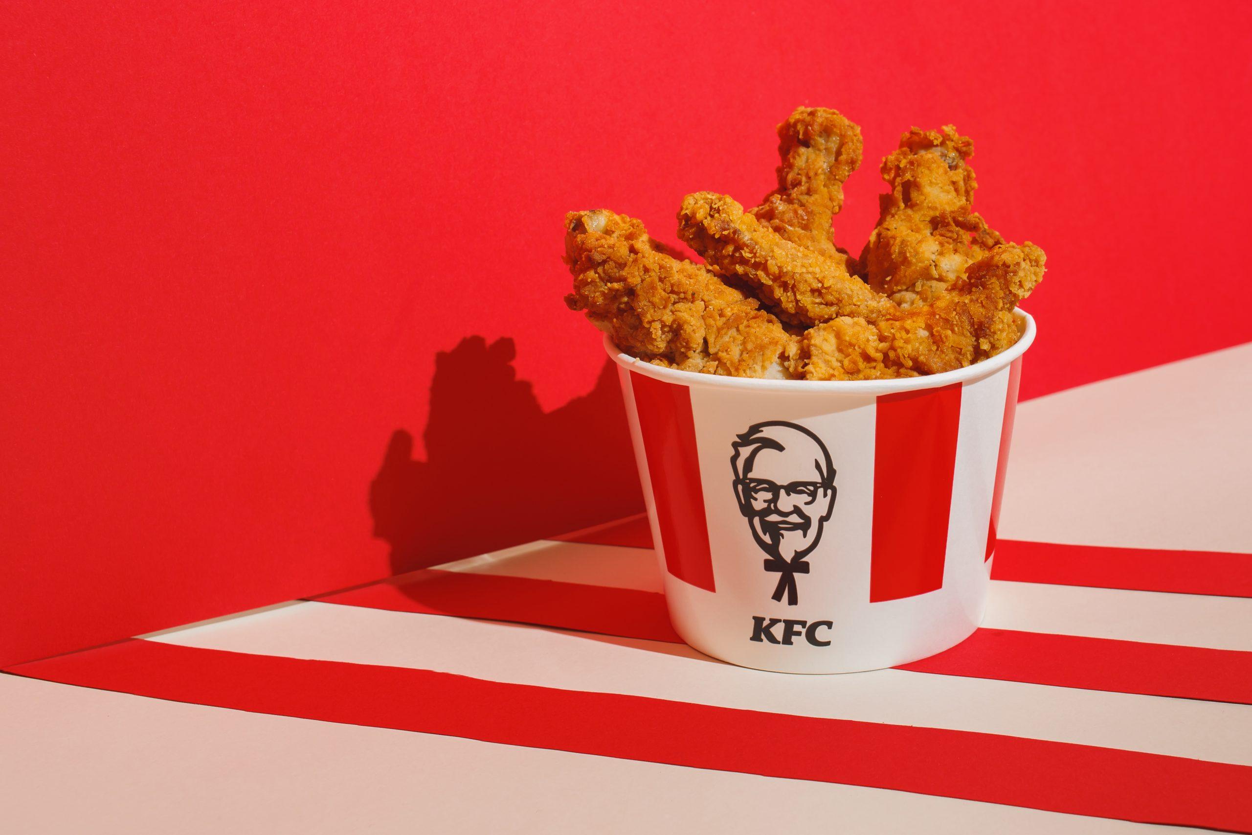 KFC Buckets : tous les menus, prix et calories