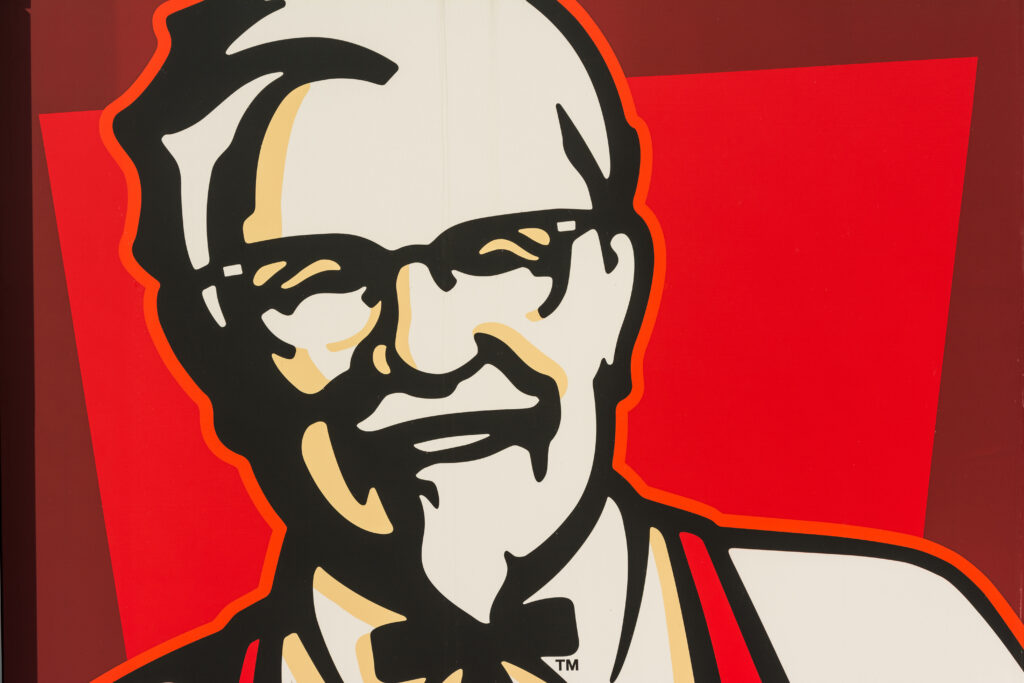 kfc logo colonel sanders