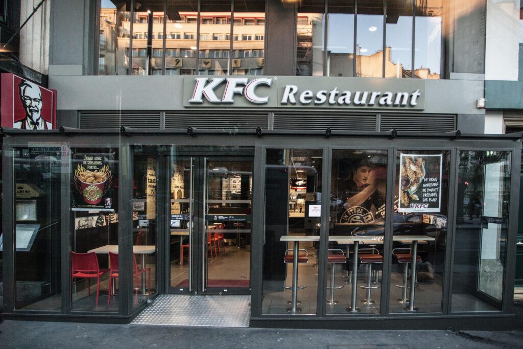 restaurant kfc paris